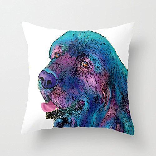uloveme perros almohada cubre 18x 18pulgadas/45por 45cm regalo o decoración para silla, al aire libre, GF, oficina, familiares, Teens