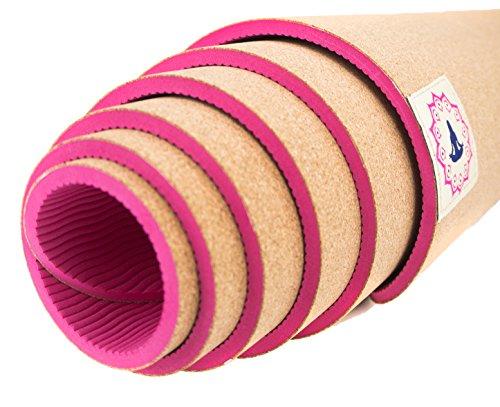Yogamatte Kork ✓ Rutschfest ✓ Naturprodukt ✓ Hautfreundlich ✓ Sportmatte ✓ Nachhaltig ✓ Fitnessmatte ✓ Meditationsmatte ✓ Schadstofffrei