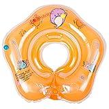 #5: Lodestone's Swimming Neck Float Ring for Baby/Infants (Orange)