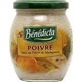 Bénédicta sauce au poivre de madagascar bocal 240g (Prix Par Unité) Envoi Rapide Et Soignée