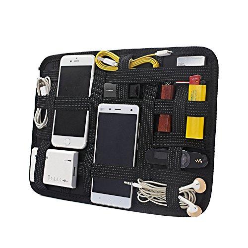 Elektronik Organizer Tasche Board Bag Organizer für Elektronik Zubehör Werkzeuge Festplatte Speicherkarte Flash Drive Kabel USB Sticks Ladegerät Kosmetik Pinsel Personal Care Kit Filz-kitchen