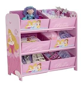 Disney Princess 6-bin de stockage