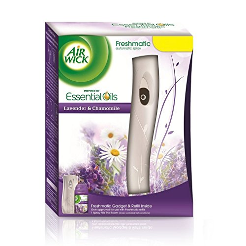Airwick Freshmatic Air Freshener Complete Kit- 250 ml (Lavender and Chamomile)