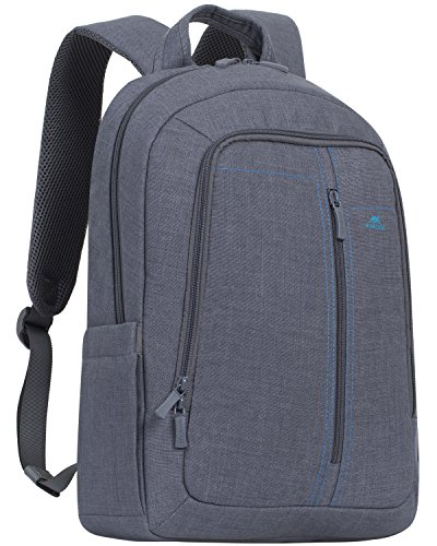"RivaCase 7560 Laptop Backpack 15.6"", Zaino per Laptop Fino a 15.6"", Grigio"