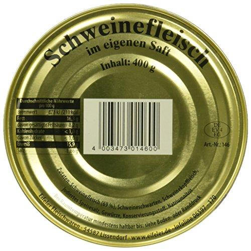 Eifeler Schweinefleisch, 12er Pack (12 x 400 g)