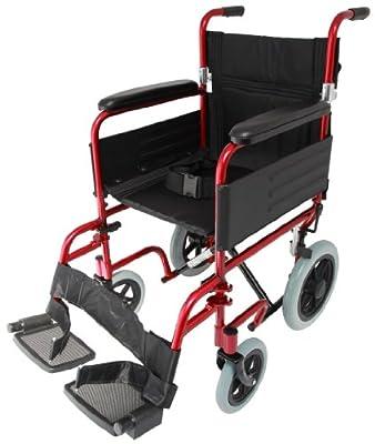 Z-Tec Lightweight Aluminium Transit Wheelchair