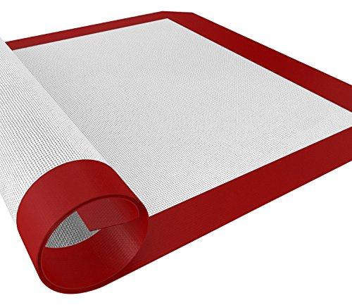 Silikon Backmatte, non Stick Silikon Liner für Backen Pfannen und Rollen, Toaster Ofen, Cookie Tabelle (Toaster Ofen Backen Pfanne)