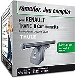 Rameder Pack Barres de Toit SquareBar pour Renault TRAFIC III Camionnette...