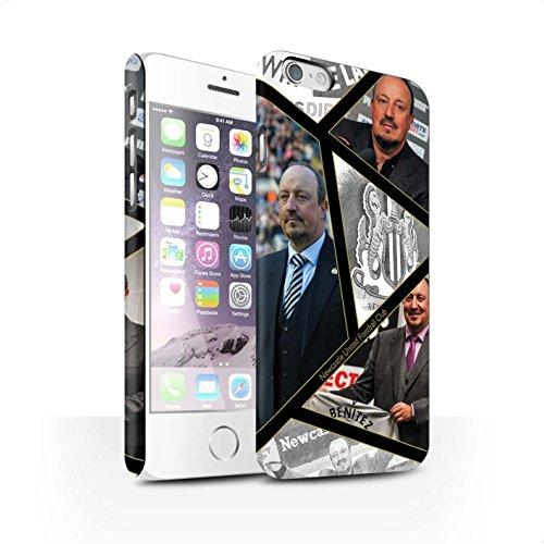 Officiel Newcastle United FC Coque / Clipser Matte Etui pour Apple iPhone 6S / Pack 8pcs Design / NUFC Rafa Benítez Collection Montage