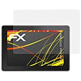 atFolix Schutzfolie kompatibel mit Dell Venue 10 Pro 5000 Bildschirmschutzfolie, HD-Entspiegelung FX Folie (2X)