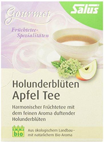 Salus Holunderblüten-Apfel-Tee, 3er Pack (3 x 30 g)