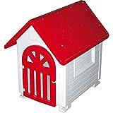 COPELE 70638 Caseta Plástico con Puerta Perros