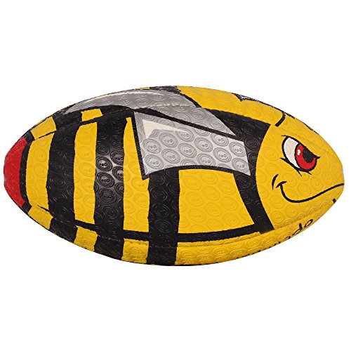 OPTIMUM Unisex-Youth Rugby Ball, Stinger, Midi, Mehrfarbig