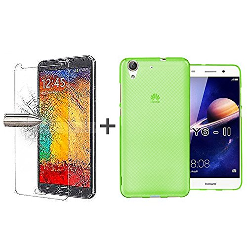 tbocr-pack-green-tpu-silicone-gel-case-tempered-glass-screen-protector-for-huawei-y6ii-y6-ii-y6-2-55