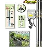 Ribiland - prpgp750/150 - Pompe immergée inox 750w 150m + tableau électrique