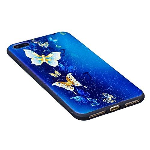 Hülle für iPhone 7 plus , Schutzhülle Für iPhone 7 Plus Kiss My Ass Puppy Pattern Stereo Relief TPU Schutzmaßnahmen zurück Deckung ,hülle für iPhone 7 plus , case for iphone 7 plus ( SKU : Ip7p9811b ) Ip7p9811c