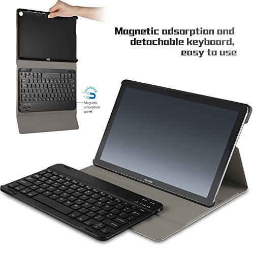 custodia con tastiera huawei m5