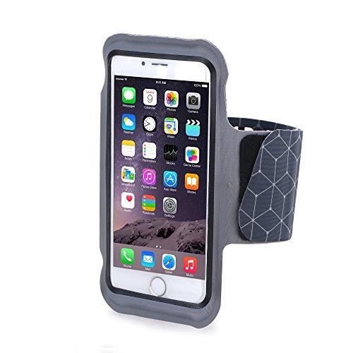 Bepack Sport Armband Hülle Für iPhone 6Plus/7Plus,Geringes Gewicht Ultra Soft Einstellbare Sport-Armband-Beutel-Lauf Telefon-Halter für iPhone(5.5Inch) für Jogging, Fitness,Radfahren,Wandern, Reiten und andere Sportarten