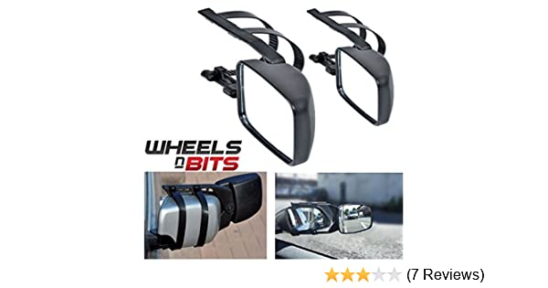 2 x Caravan Towing Mirror Extension Car Wing Mirrors for Opel Vauxhall Insignia Meriva Mokka