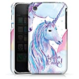 DeinDesign Apple iPhone 3Gs Housse étui Coque Protection Licorne Sie Phrases
