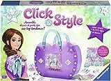Die Packung enthält ein Tasche sowie Zubehör und ist geeignet für Kinder ab 7Jahren. Click and Stil Handtasche ist ein Produkt der Ravensburger im, Ihr Kind einen Tasche aus Kunststoff flexibel, für Farbe Lila, sowie sonstiges Zubehör zum Mittelpunk...