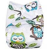 Alva bebé reutilizable lavable bolsillo pañal de tela con 2Liners n11t-eu