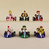 Super Mario Brothers Luigi 6Figuren Spielzeug Kuchendeko Party Bag Filler Geburtstag