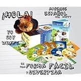 Kit audiovisuel PetraLingua dvd-cd-livres espagnol pour enfants