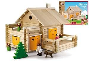 jeujura 8064 jeu de construction la maison en. Black Bedroom Furniture Sets. Home Design Ideas