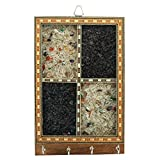 #9: Regis Key Hold - Wall Mounted Key Chain Hanging Board/Box - Skywood Wenge Small - Rg-Kh-Sw-W10