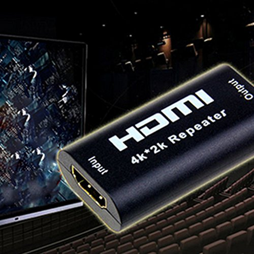 Mini HDMI Repeater Extender HDMI Amplifier Booster 4kx2k 1080P Switch HDTV  available at amazon for Rs.485