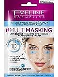 Eveline MultiMasking Face Mask Intense Moisturizing Illuminating Treatment 2x5ml (pack of 10)
