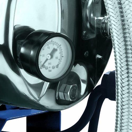 Einhell Hauswasserwerk BG-WW 1038 N (1000 W, 3800 l/h Fördermenge, 20 l Behälter, Edelstahlpumpengehäuse, Manometer) - 6