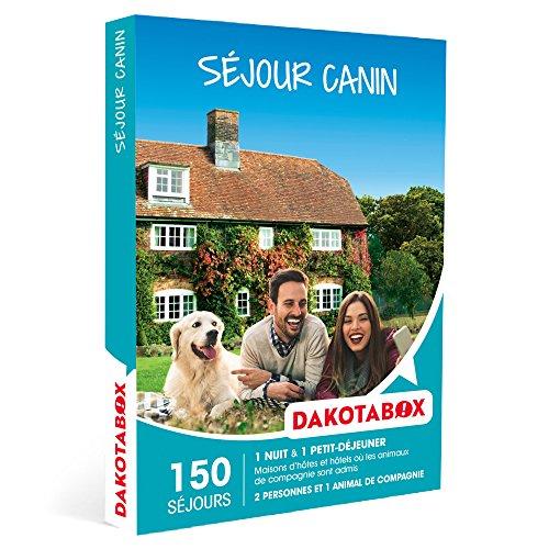 DAKOTABOX - Coffret Cadeau - SÉJOUR CANIN - Maisons d'hôtes et hôtels où les...