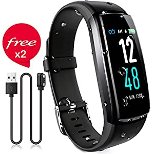 Sport & Unterhaltung Schrittzähler Qualifiziert Smart Armband Pedometer Smart Uhr 2 Band Blutdruck Herz Rate Monitor Fitness Armband Aktivität Tracker P0