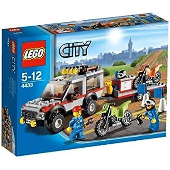 LEGO City - 4433 - Jeu de Construction - Le Transporteur de Motos - Tout Terrain
