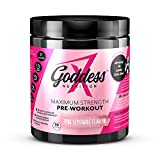 Goddess Nutrition – Maximum Strength Pre-Workout Powder Shake for Women - Increased Physical
