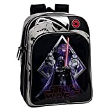 Star Wars 2192451 Darth Vader Mochila Escolar Adaptable a Carro, Color...