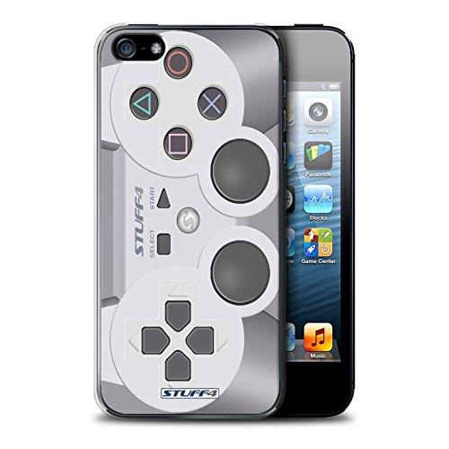 Custodia/Cover Rigide/Prottetiva STUFF4 stampata con il disegno Console di gioco per Apple iPhone 5/5S - Playstation ps1