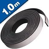 Power-Magnetband Magnetstreifen selbstklebend mit TESA-Kleber 3,2mm x 24,5mm x 1m - extra stark