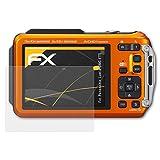 atFoliX Schutzfolie für Panasonic Lumix DMC-FT5 Displayschutzfolie - 3 x FX-Antireflex blendfreie Folie