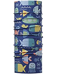 Original Buff Ocean Blue - High UV Protection para niños hasta 3 años, diseño estampado