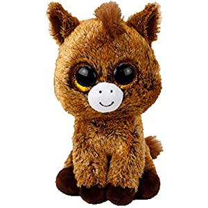 TY - Beanie Boos Harriet, Peluche Caballo, 15 cm (United Labels Ibérica 36842TY)