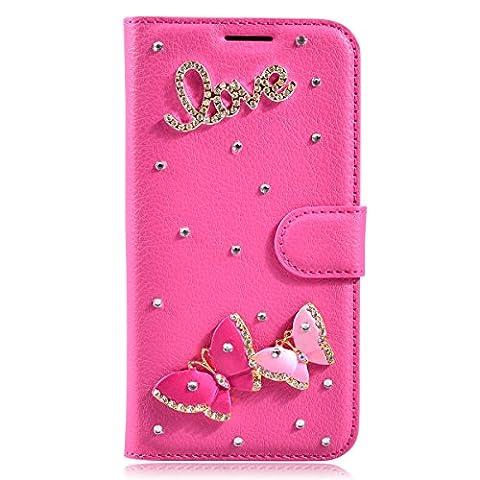 BLU Grand M Case,Gift_Source Luxury 3D Glitter Bling Crystal Rhinestone
