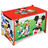Delta Children's Products Disney Mickey Mouse Toy Box Spielzeugkiste Holz Truhe Spielzeug Spielzeugbox Truhe