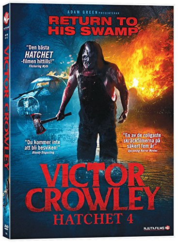 """Victor Crowley - Hatchet 4 (Kane """"Jason Voorhees"""" Hodder) (DVD Region 2)"""