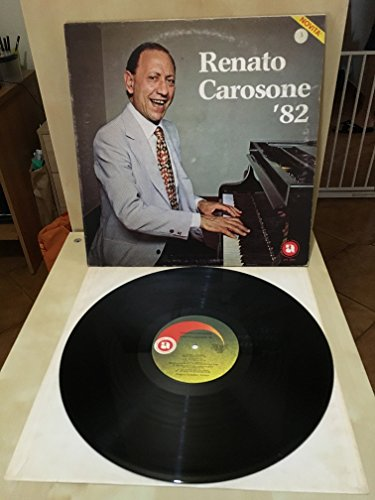 VINILE 33 GIRI RENATO CAROSONE 82 - 1982 - RARO -