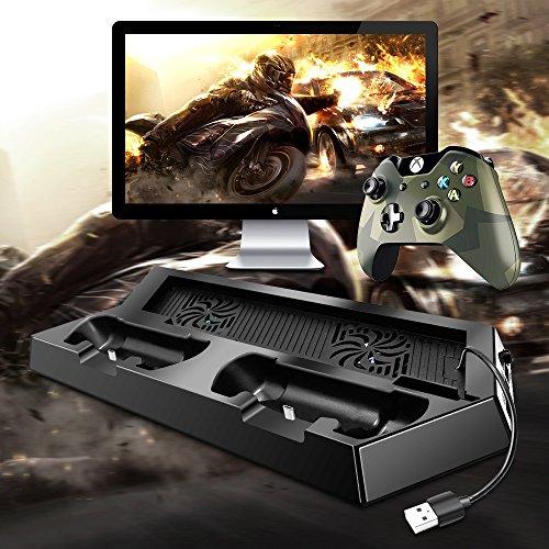 AFUNTA-Dual-Shock-Dock-di-Ricarica-per-PlayStation-4-Controller