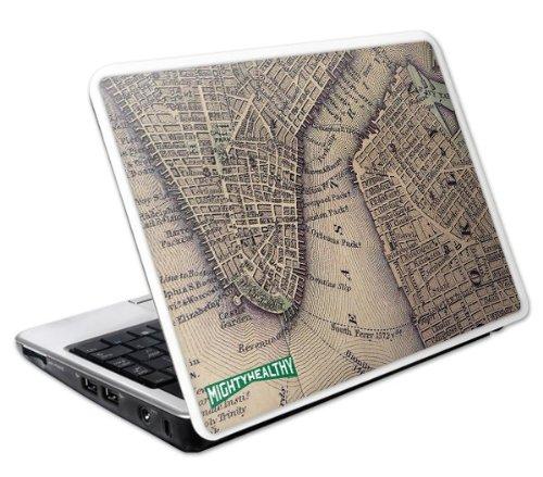 MusicSkins Schutzfolie für Netbook, Motiv Mighty Healthy Old Map, 241x164mm