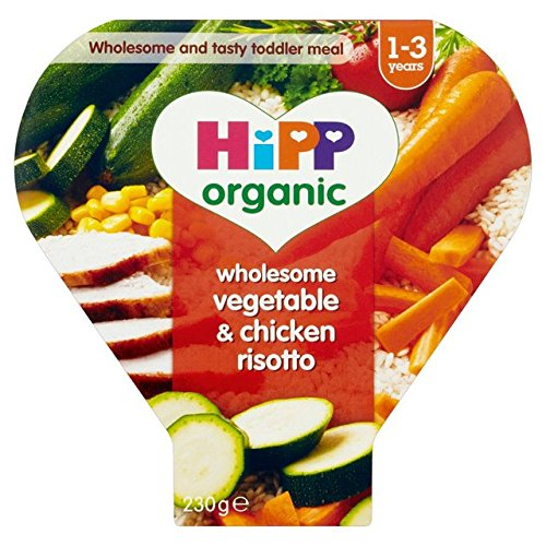 HiPP Organic Wholesome Vegetable & Chicken Risotto 230g